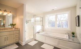 Virginia Ave Master Bath Tub and Shower